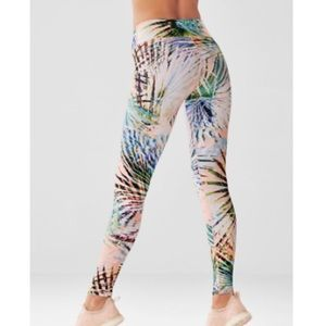 Fabletics Palm Print High Waisted Leggings